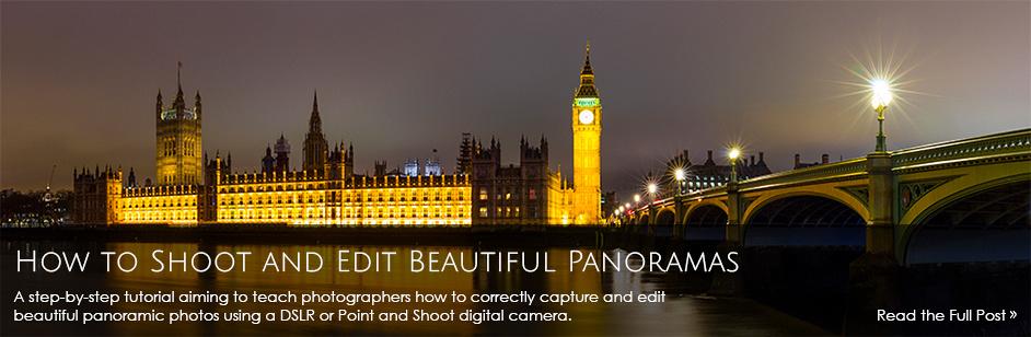 How to shoot and edit beautiful Panoramas