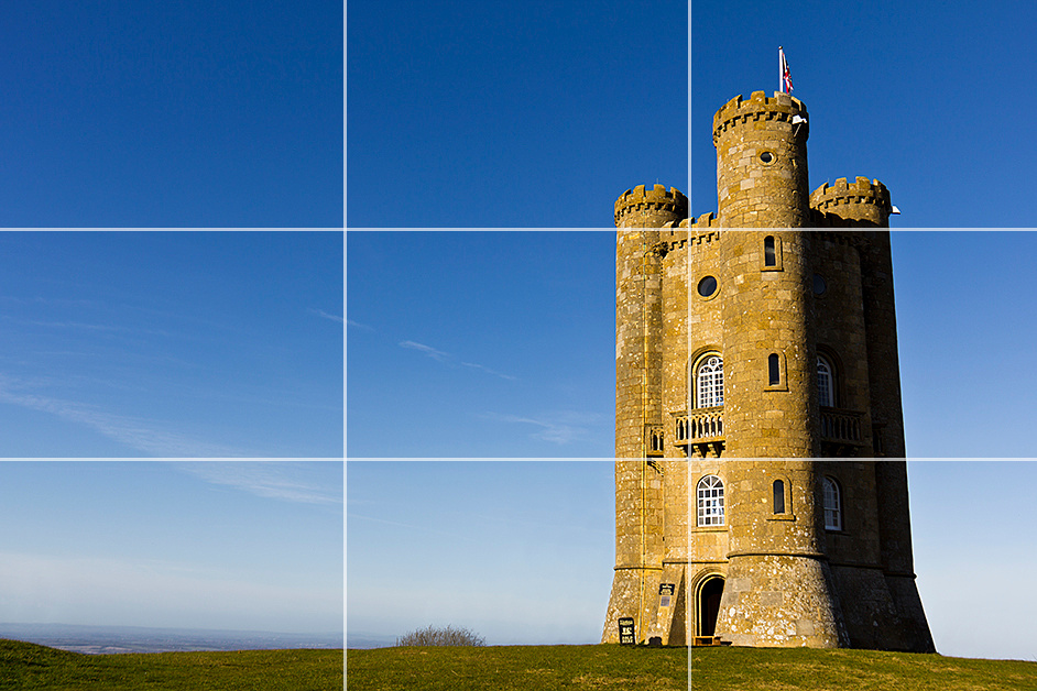 Rule of Thirds Landscape example