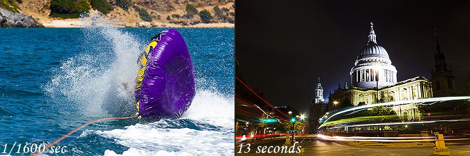 Shutter Speed Comparison