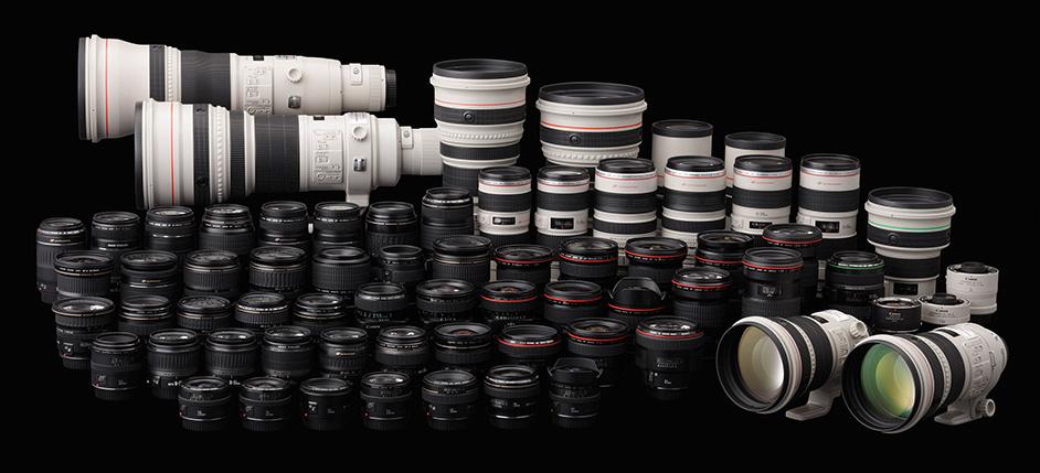 Canon Lens Range