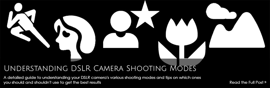 Understanding DSLR Camera Shooting Modes