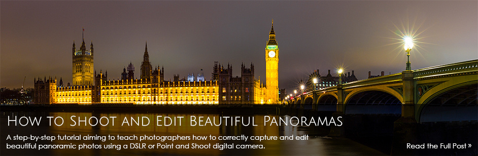 How to shoot and edit beautiful Panoramas