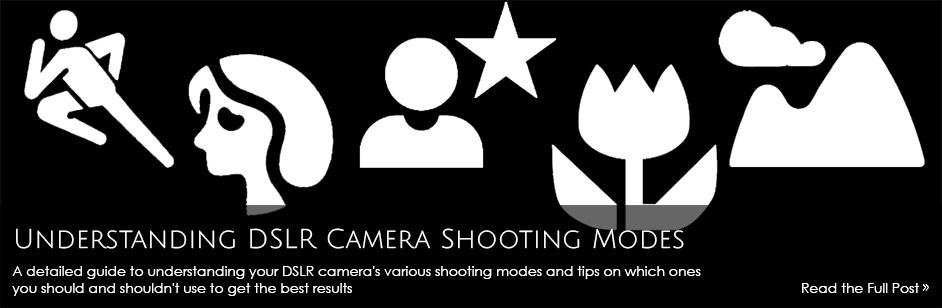 Understanding DSLR Camera Shooting Modes